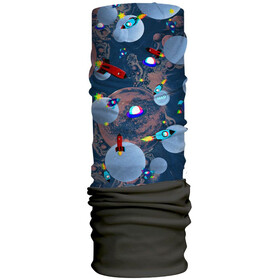 HAD Originals Fleece Tube Kinder space 3d/black fleece